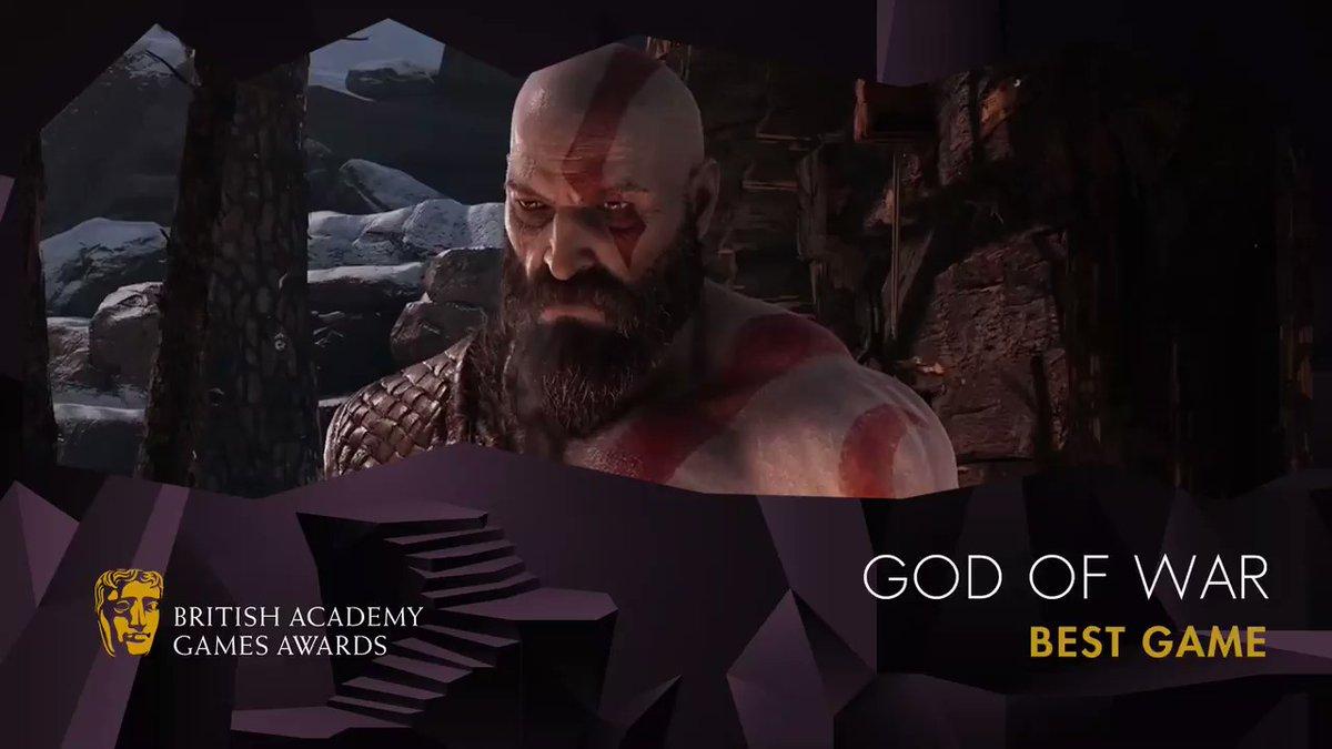 El Gran Ganador De Los Premios BAFTA Es God Of War