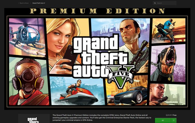 Descarga GRATIS Ahora Grand Theft Auto V Premium Edition