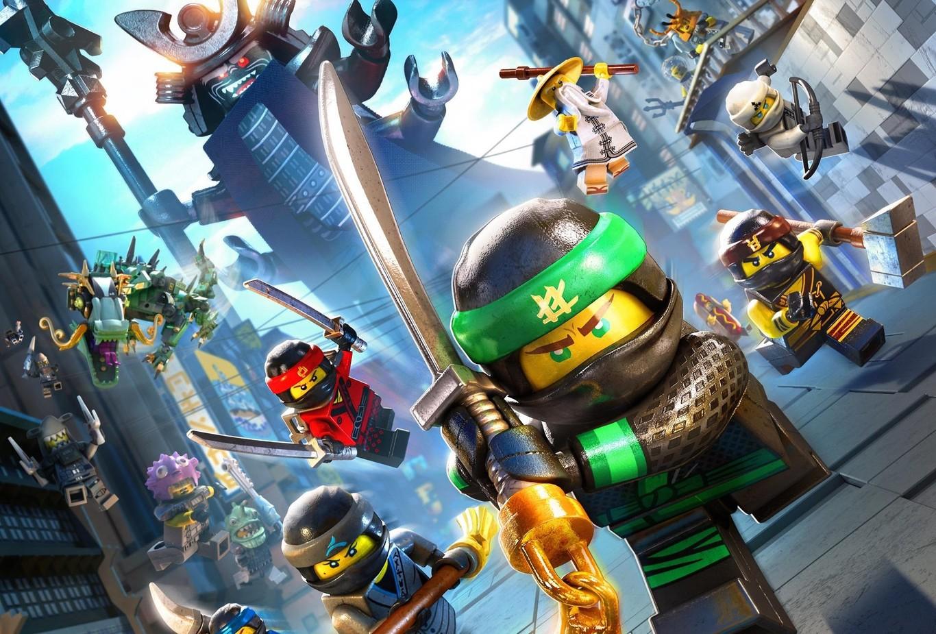 Descarga GRATIS Ahora El Juego LEGO Ninjago Película