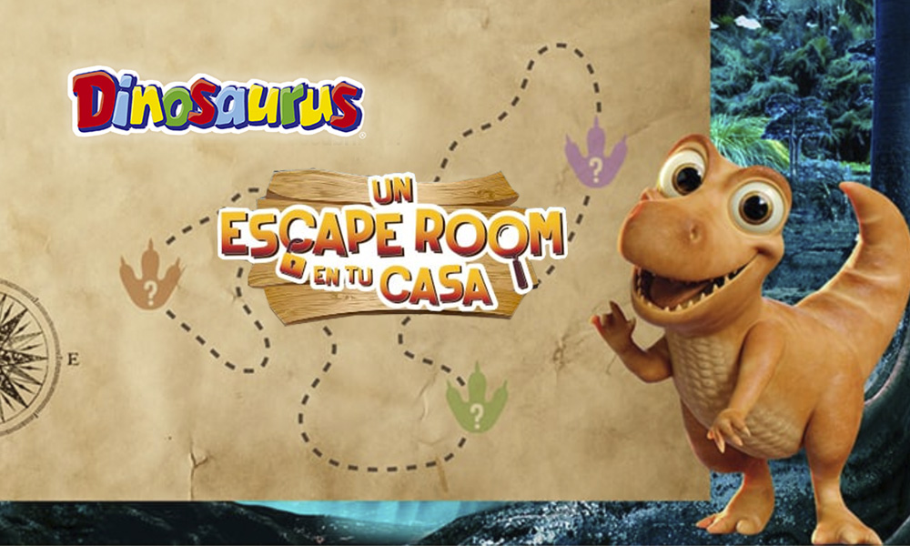 Convierte Tu Casa En El Escape Room Dinosaurus